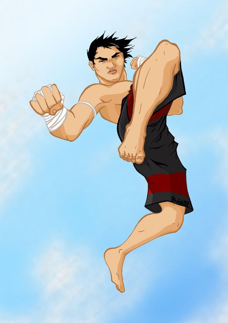 #illustration #thaiboxing