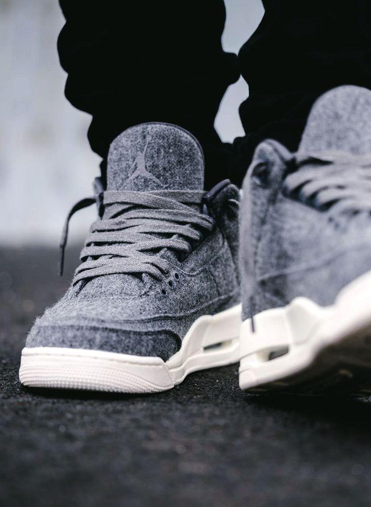 Air Jordan 3 Retro 'Wool' (via Kicks-daily.com) Release