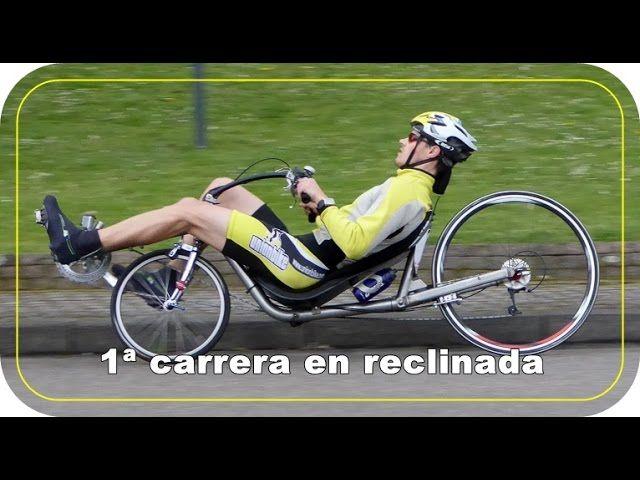 Video de Alvaro Molinos, compitiendo en una carrera en Alemania con bici reclinada. Aprendemos y conocemos una nueva modalidad de ciclismo
