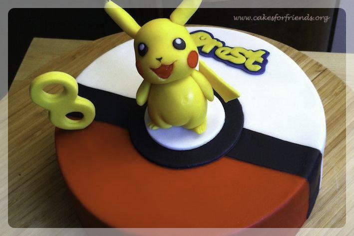 Gateau Pokemon, Pikachu gateau, Pikachu cake, Pikachu Kuchen, Pokemon cake, Pokemon Kuchen