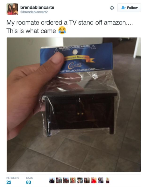 ALWAYS double check the measurements on furniture. | 17 People Who Did Not Get What They Ordered Online