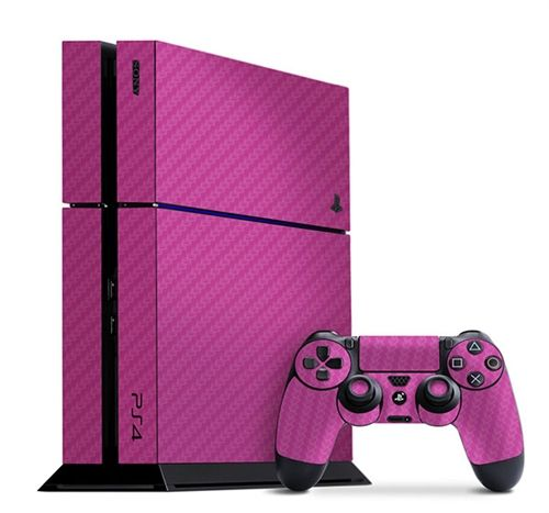 Get a perfectly Pink Carbon Fiber Slickwrap for your PS4 or any other device today! Available now at www.slickwraps.com!