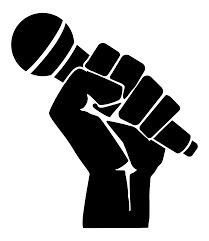 Image result for standing microphone png silhouette