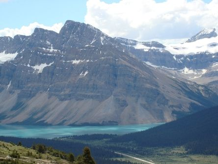 Waterfowl Lakes Campground - pretty far north, past Lake Louise, 2 Hrs 43 Minutes. We could canoe there likely. A bit too cold for swimming. So beautiful, near lake louise if we want to rent a canoe there or walk to the tea houses! 21.50$ .