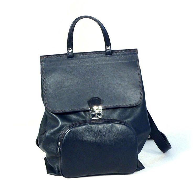 Carota® - Borsa Zaino Donna in Pelle - Backpack shopping
