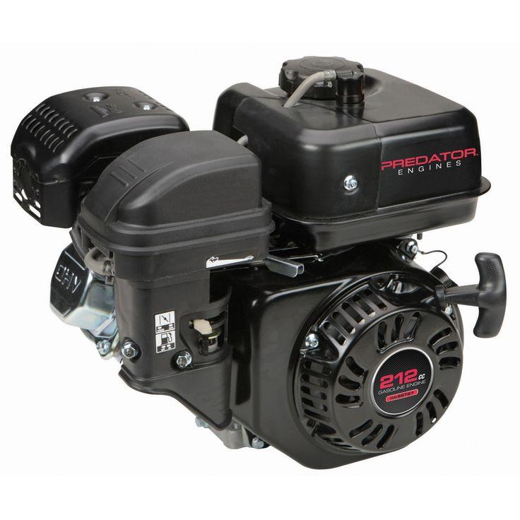 6.5 HP (212cc) OHV Horizontal Shaft Gas Engine EPA ...