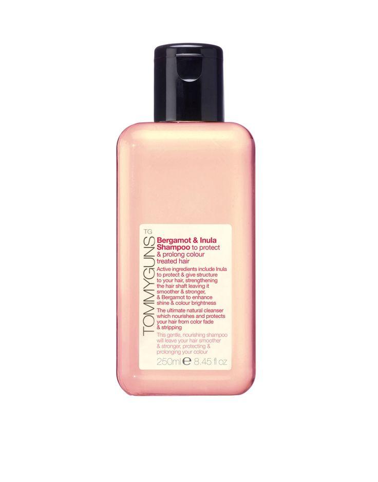 Tommy Guns | Tommy Guns Bergamot & Inula Shampoo For Colour Treated Hair 250ml at ASOS