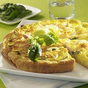 Открытый пирог с сыром и луком-пореем рецепт – французская кухня: выпечка и десерты. «Афиша-Еда»