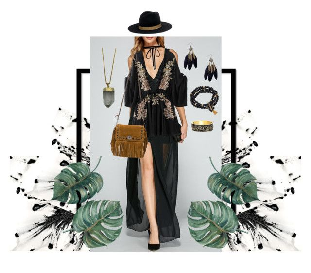 """Outfit #7"" by anakhai on Polyvore featuring Janessa Leone, Joomi Lim, Coach 1941, Fornash and Zara Taylor"