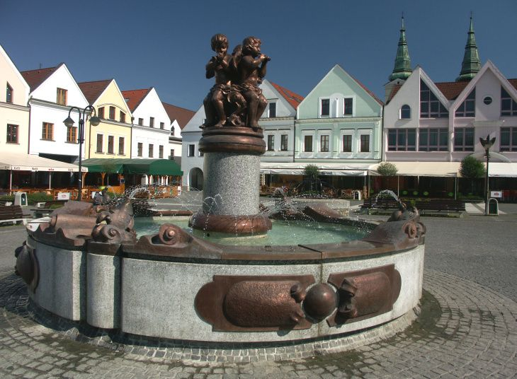 Slovakia, Žilina - Square
