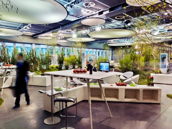 11 best creative offices images on pinterest design for Beautiful office space design