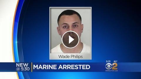 Marine Accused Of Child Luring: CBS2's Alice Gainer has more.