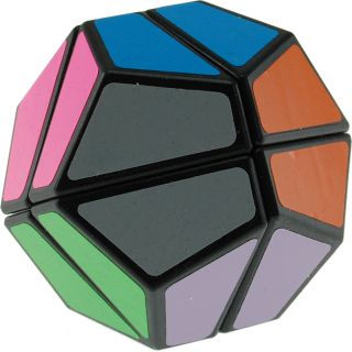 12 Faces Ultimate Like Cube Black Body 2x2x2 at Puzzle Master Inc. - Puzzle Master Inc.