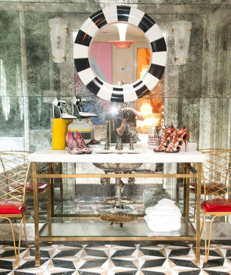 17 Best Ideas About Antique Mirror Walls On Pinterest