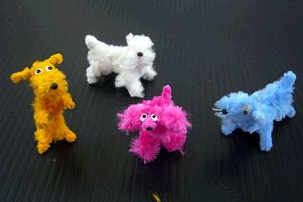 Easy Pipe Cleaner Crafts | Pipe Cleaner Crafts – Crafting Parties