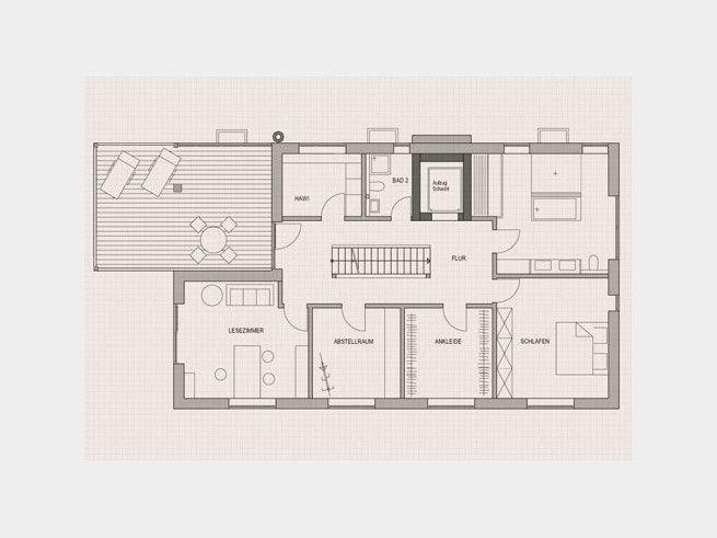 110 besten grundriss f rs traumhaus floor plans bilder for Grundriss kleines einfamilienhaus