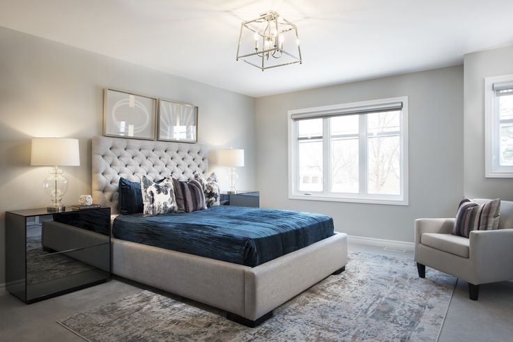 This is the Master Bedroom of the Turner model home located in our Poole Creek community in Kanata/Stittsville.