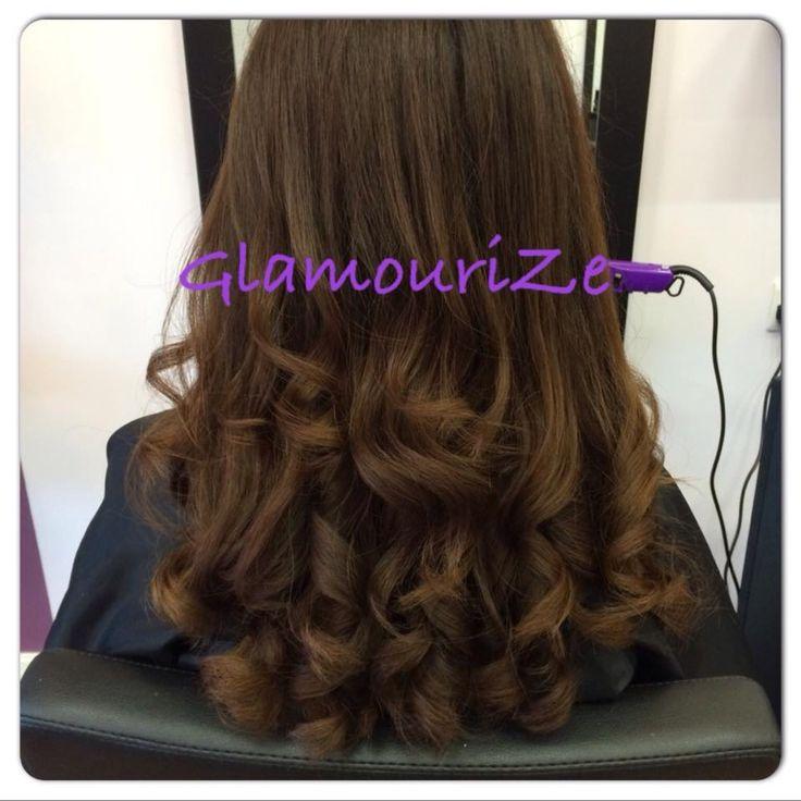 Hair|BlowDry|CurlyHair  We LOVE big bouncy curls!
