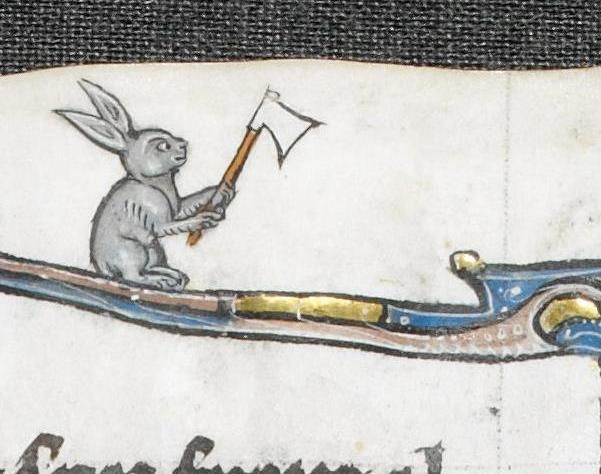 110 best Rabbits and hares images on Pinterest | Medieval art, Rabbits and Illuminated manuscript