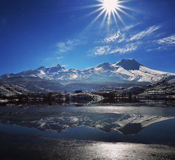 Mount Hasan (3268 m.) #Aksaray #Turkey - Photo by Murat Öner Taş