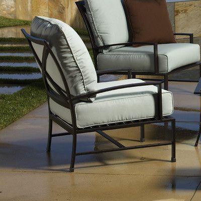 Sunset West La Jolla Deep Seating Chair Fabric: Canvas Vellum