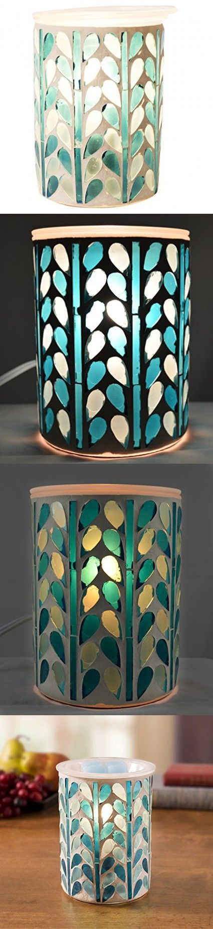 Mosaic Wax Warmer (Blue)