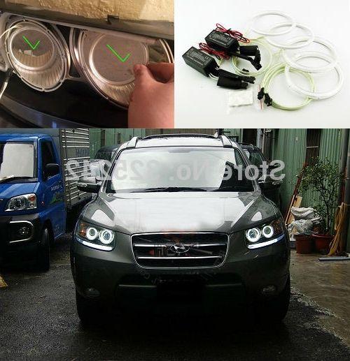 32.68$ Watch here - https://alitems.com/g/1e8d114494b01f4c715516525dc3e8/?i=5&ulp=https%3A%2F%2Fwww.aliexpress.com%2Fitem%2FFor-Hyundai-Santa-Fe-santafe-2007-2008-2009-2010-2011-2012-Excellent-ccfl-angel-eyes-kit%2F32668349728.html - For Hyundai Santa Fe santafe 2007 2008 2009 2010 2011 2012 Excellent ccfl angel eyes kit Ultra bright illumination Halo Ring kit
