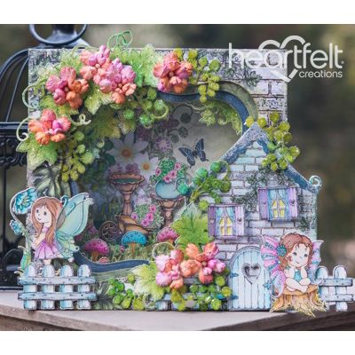 Heartfelt Creations - Fairyland Shadowbox Project