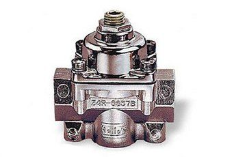 Holley 12-804 Fuel Pressure Regulator 1-4psi --- Suits Carby Application 7/32 Restriction www.LearnAutomotiveKnowledgeOnline.com