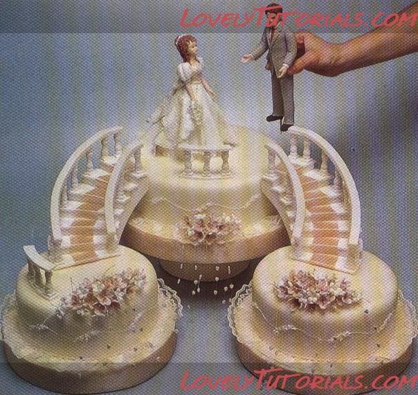 МК как слепить лестницу -gumpaste(fondant) ladder tutorial - Мастер-классы по украшению тортов Cake Decorating Tutorials (How To's) Tortas Paso a Paso