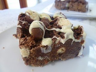 Probably one of the naughtiest but yummiest traybakes I've ever had (and expensive too) but sooooo nice