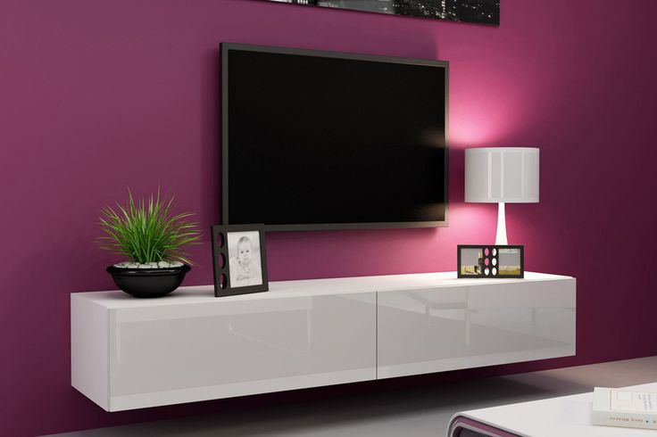 Black TV Cabinet in Elegance Rack lcd Pinterest Tv cabinet - led panel küche