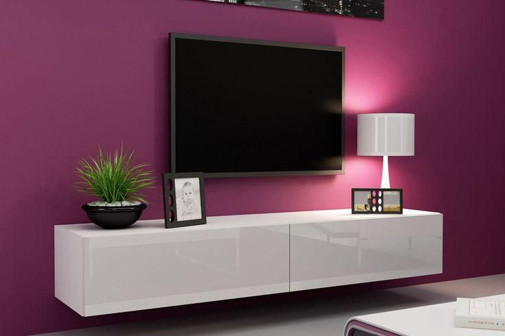 Black TV Cabinet in Elegance Rack lcd Pinterest Tv cabinet