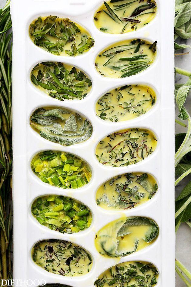 The secret to making fresh herbs last basically forever.