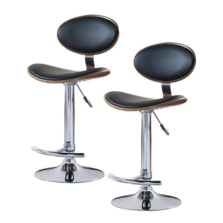 leick furniture oval swivel bar stool set of 2 for