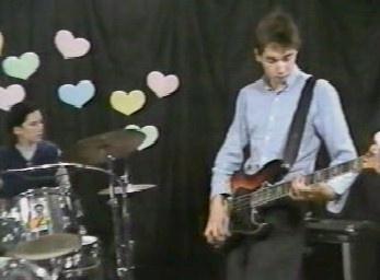 MCA on bass & Kate Schellenbach on drums... #originalbeastieboys