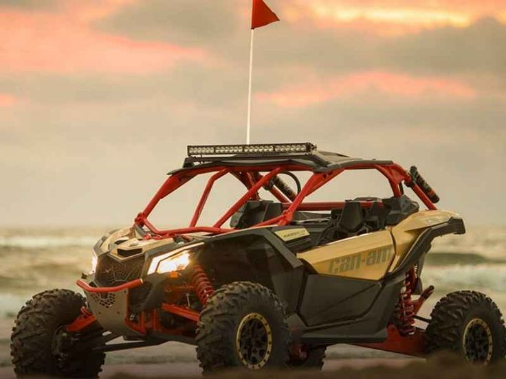 New 2017 Can-Am Maverick X3 X RS Turbo R Gold & Can-Am R ATVs For Sale in Arizona. 2017 Can-Am Maverick X3 X RS Turbo R Gold & Can-Am Red, 2017 Can-Am® Maverick X3 X RS Turbo R Gold & Can-Am Red BORN LEADER <p> This is the world's first factory 72-in wide side-by-side vehicle. With 24-in of suspension travel and advanced FOX Racing components, it stretches the X3 X rs abilities far beyond expectations for staggering performance anywhere.</p>strong>Features may include:<ul> <li> 72-in width…
