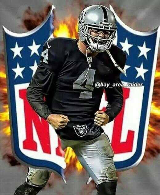 Derek Carr!  Best rookie QB in 2014! Future of the Raiders baby!  Looks promising for Raider Nation! Go Raiders!