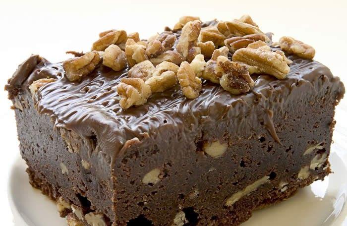 Receta Brownies de Chocolate con Nueces