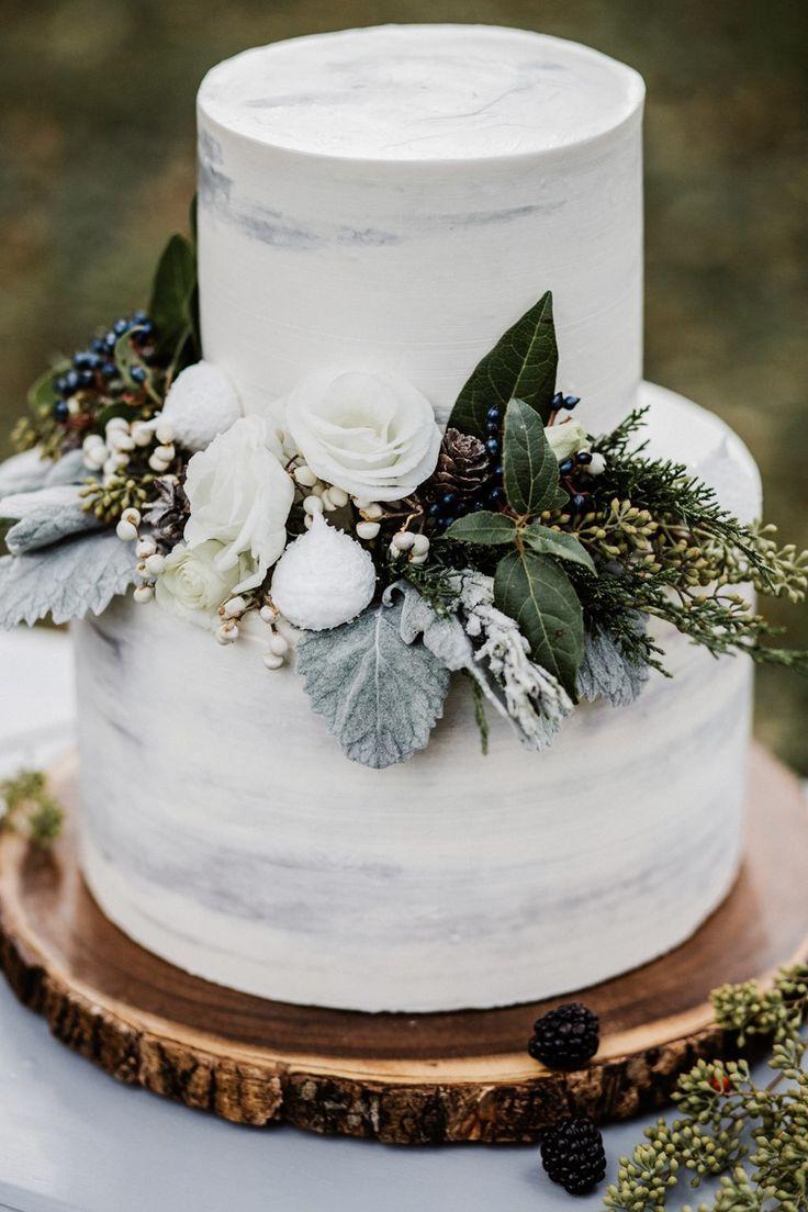 Winter-Hochzeitstorte   – Hochzeitsgast