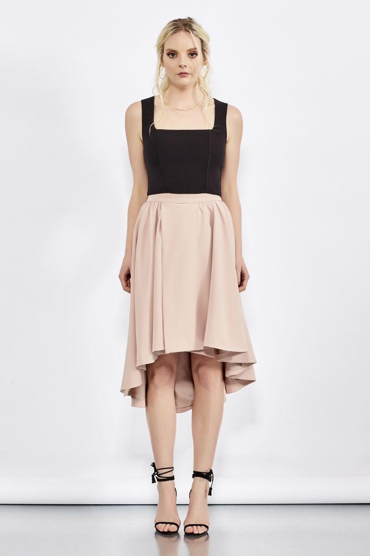 Keep In Line Skirt | Delphine