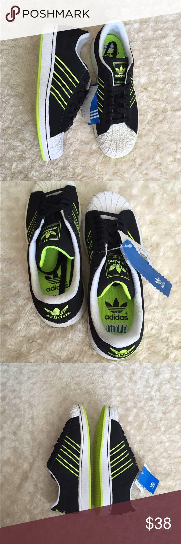 Adidas Superstar Neon