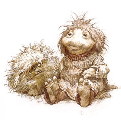"""FIZGIG!    """"The World of the Dark Crystal"""" by Brian Froud    CHARACTER DESIGN REFERENCES™"""