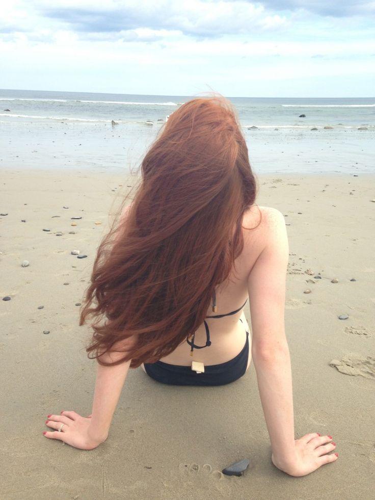 Free in photo redhead stocking