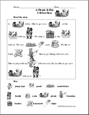 summer theme unit free printable worksheets games and activities for kids - Fun Printable Worksheets For Kids