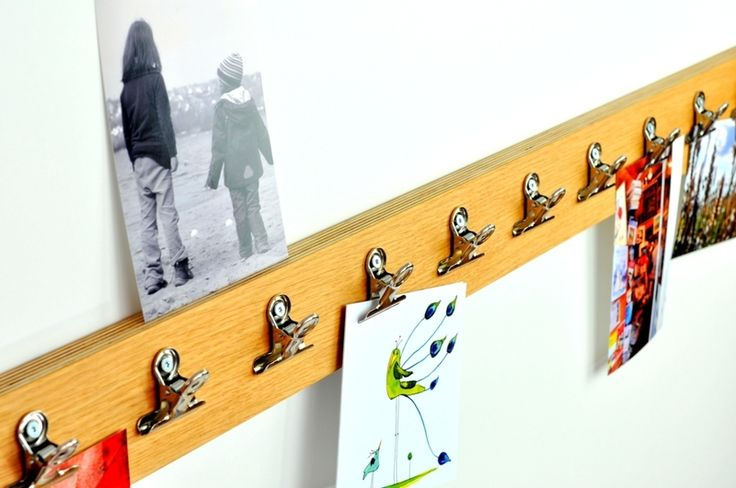 Bilderrahmen - Fotoleiste - ein Designerstück von Klotzaufklotz bei DaWanda