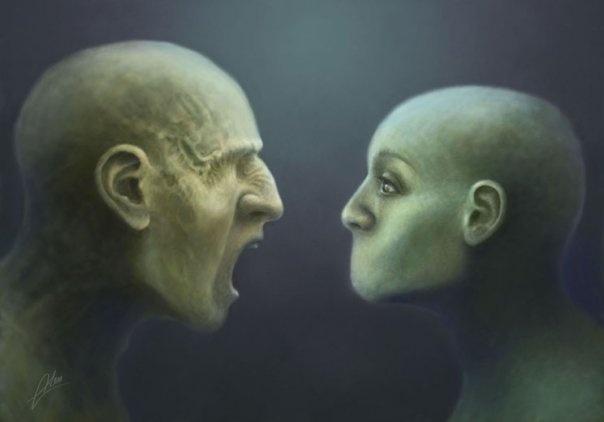 Painting by Tomasz Alen Kopera