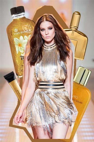 Gold touch: creme e oli che regalano a corpo e capelli un 'aura' magica