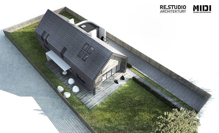 MIDI Pracownia Architektoniczna - Dom w Leżnie
