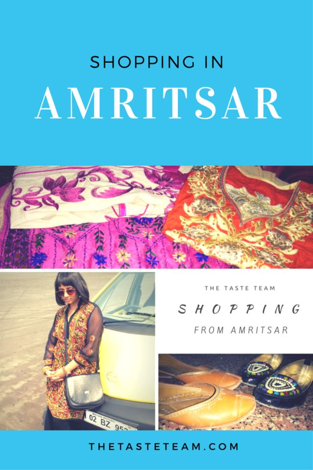 Shopping in Amritsar